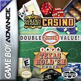 Casino    Double Game Pack Nintendo Game Boy Advance, 2005
