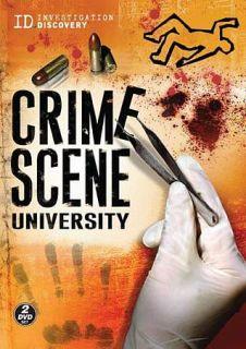 Crime Scene University DVD, 2009, 2 Disc Set
