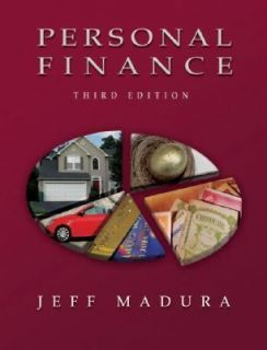 Personal Finance with Financial Planning Software by Jeff Madura 2006