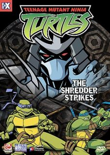 Teenage Mutant Ninja Turtles   Vol. 4 The Shredder Strikes DVD