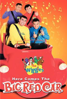 The Wiggles   Here Comes Big Red Car DVD, 2007
