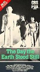 The Day the Earth Stood Still VHS, 1991