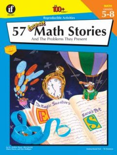 57 Great Math Stories And the Problems They Present by Alice Koziol