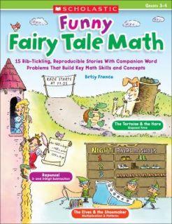 Funny Fairy Tale Math, Grades 3 4 15 Rib Tickling Reproducible Stories