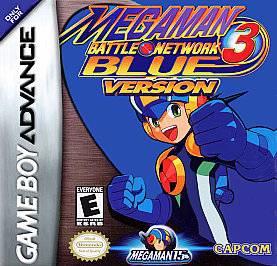 Mega Man Battle Network 3 Blue Version Nintendo Game Boy Advance, 2003