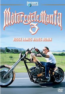 Motorcycle Mania 3 Jesse James Rides Again DVD, 2005