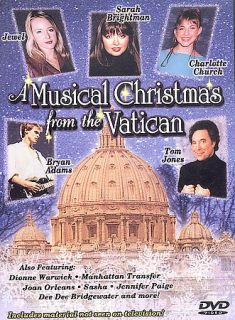 Musical Christmas from the Vatican DVD, 2002