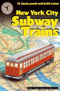 New York City Subway Trains 12 Classic Punch and Build Trains by New