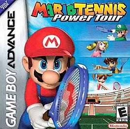 Mario Tennis Power Tour Nintendo Game Boy Advance, 2005