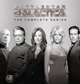 Galactica   The Complete Series DVD, 2010, 26 Disc Set