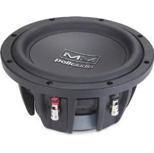 Polk Audio MM840 1 Way 8 Car Subwoofer