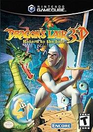 Dragons Lair 3D Return to the Lair Nintendo GameCube, 2002