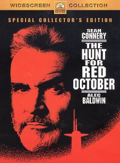 The Hunt for Red October DVD, 2003, Collectors Edition