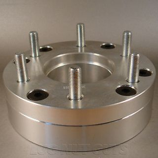 BILLET WHEEL ADAPTERS 5x5.5 to 6x135 2 THICK SPACERS 5 LUG to 6 LUG