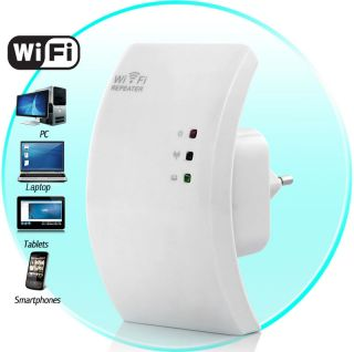 Wall Powered Wireless Signal Repeater and WiFi Access Point