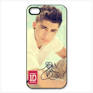 1D One Direction Zayn Malik iPhone 5 Hard Black Plastic Case Cover