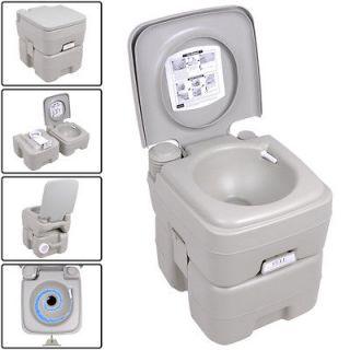 Gallon Portable Toilet Flush Travel Camping Outdoor/Indoor Potty