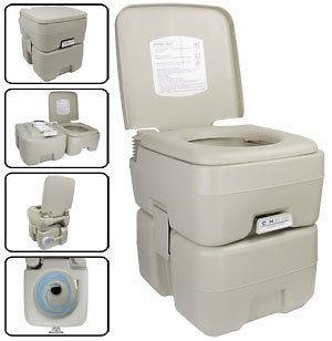 portable camping toilet in Showers & Toilets