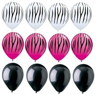 zebra print party supplies in Holidays, Cards & Party Supply