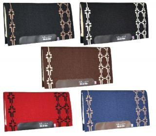 Professionals Choice western saddle pad SMX Air Ride Cross Pattern