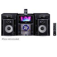 Sony LBT LCD77Di Shelf Stereo System (Black)