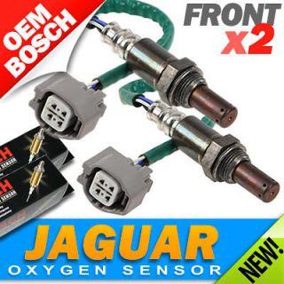 2PC   Jaguar OXYGEN SENSORS FRONT/UPPER LEFT & RIGHT Genuine Bosch