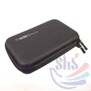 Black New Hard Travel Case Cover Carry Bag Pouch For Nintendo 3DS LL