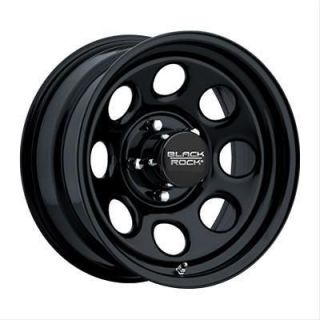 Black Steel Rock Series 997 Type 8 Matte Black Steel Wheel 17x9 8x6