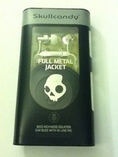 Newly listed NEW IN BOX! Skullcandy Full Metal Jacket Headphones w/Mic