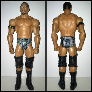 WWE Mattel David Otunga Nexus Wrestling Action Figure WWF Lot MINT