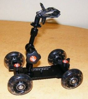 Compact Table Floor Dolly with 7 Arm and Clamp for DSLR Video Camera