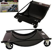 Qty2 Car Moving Wheel Tire Dolly Skate Jack Shop Lift Cars Automotive