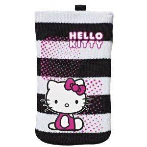 Hello Kitty Sock Case Cover Pouch For  MP4 Player & Digital Camera