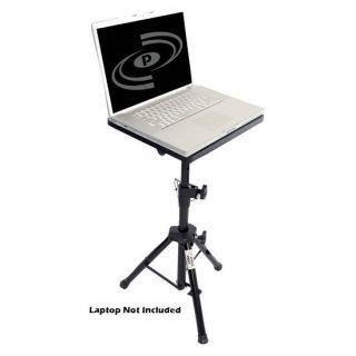 PLPTS4 Pro DJ Laptop TriPod Adjustable Stand For Notebook Computer