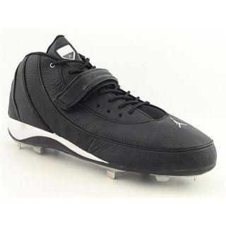 Jordan Jumpman Dj Mens Size 16 Black Leather Baseball Cleats Shoes