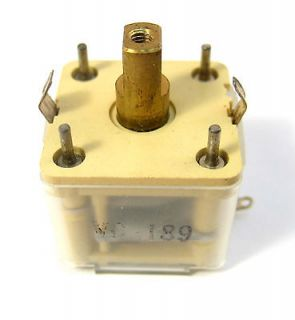 Poly film Variable Tuning Capacitor 320pF. Great for Crystal Radios