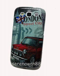 Samsung Galaxy S3 S III i9300 Mini Cooper London Style Plastic Case