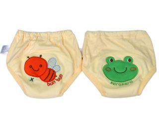 2X Toddler Baby Kids Boy Girl Training Pull up Pants Waterproof