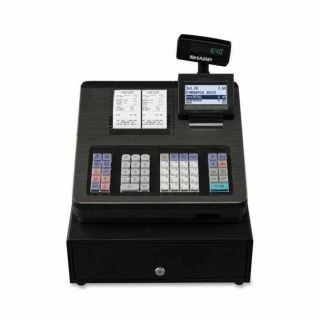 Sharp XE A407 Electronic Cash Register With Dual Station Printer