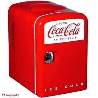 Cola Small Mini Fridge Refrigerator Boat Home Office Personal KWC4