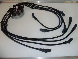 RACING SPARK PLUG WIRES W/ MOROSO DIST CAP OVALSTREET SCOTT ACCEL