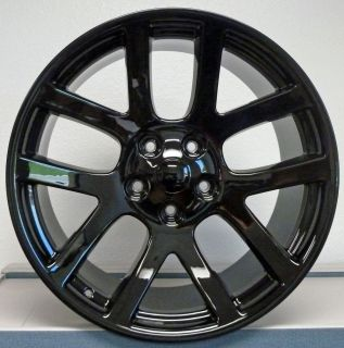 20 SRT10 Dodge Ram Dakota Durango Wheel Rim Gloss Black