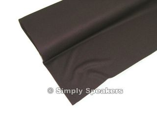 Chocolate Brown SPEAKER GRILL CLOTH Stereo Grille Fabric # A 570