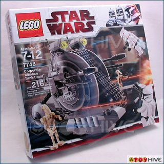Star Wars Lego 7748 Corporate Alliance Tank Droid   Retired   Factory