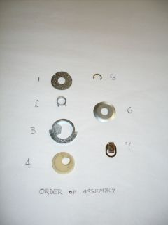 AMC,AMX,JAVELIN.ELECTRIC WIPER MOTOR CONCENTRIC BUSHING ASSEMBLY KIT