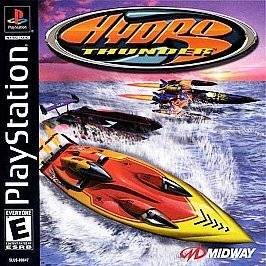 HYDRO THUNDER   PS1 PS2 PLAYSTATION GAME Complete