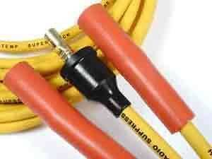 Accel 4047 8mm Yellow Spark Plug Wires 1956 1965 Chevy, GMC Truck