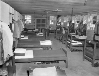 US Army barracks bunks foot locker Signal Corps Fort Gordon GA 1960s