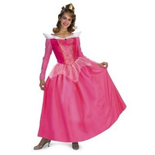 AURORA Adult Prestige Deluxe Disney Sleeping Beauty Costume 12 14