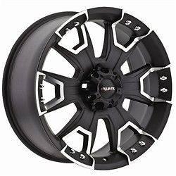 15 inch Ballistic Havoc black wheels rims 6x5.5 6x139.7 / TOYOTA GMC
